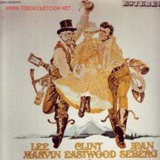 Discos de vinil: LA LEYENDA DE LA CIUDAD SIN NOMBRE DISCO LP BANDA SONORA ORIGINAL HDT 531-01 SPA 1970. Lote 23840966