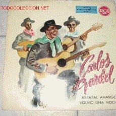 Discos de vinilo: CARLOS GARDEL. 45 RPM. Lote 2832511