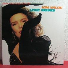Discos de vinilo: KIM WILDE ( LOVE MOVES ) 1990 - GERMANY LP33 MCA RECORDS. Lote 2839244
