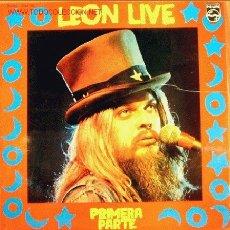 Discos de vinilo: LEON RUSSELL-LEON LIVE PRIMERA PARTE LP EDITADO POR PHILIPS EN 1974 RARO. Lote 2855745