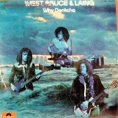 Discos de vinilo: WEST, BRUCE & LANG-WHY DONTCHA LP EDITADO POR POLYDOR EN 1973 ORIGINAL RARO. Lote 2855760