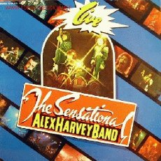Discos de vinilo: ALEX HARVEY BAND-THE SENSATIONAL LIVE LP VINILO EDITADO POR FONOGRAM EN 1976. Lote 2859912