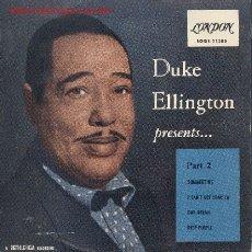 Discos de vinilo: DUKE ELLINGTON-SUMMERTIME + 3 E.P. EDITADO POR LONDON 1960. Lote 2879334