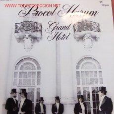 Discos de vinilo: PROCOL HARUM-GRAND HOTEL LP VINILO EDITADO POR FONOGRAM EN 1973 RARE SPAIN EX EX. Lote 2884931