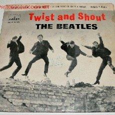 Discos de vinilo: BEATLES - TWIST AND SHOUT . TASTE DE HONEY - DO YOU WANT TO KOW A SECRET . THERE´S A PLACE - EP (7'). Lote 14091886