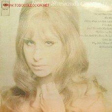 Discos de vinilo: BARBRA STREISAND´S-GREATEST HITS LP VINILO EDITADO POR CBS EN 1970 EX B SPAIN. Lote 2905995