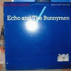 Discos de vinilo: ECHO AND THE BUNNYMEN ----- NEVER STOP MAXI SINGLE. Lote 16655845