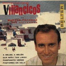 Discos de vinilo: MANOLO ESCOBAR - VILLANCICOS . Lote 2909603