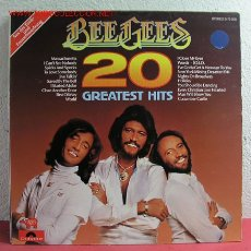 Discos de vinilo: BEE GEES '' 20 GREATEST HITS '' LP33. Lote 2931122
