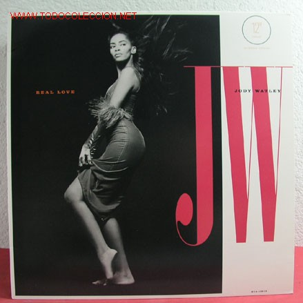 JODY WATLEY ' REAL LOVE ' 1989 LP33 (Música - Discos - LP Vinilo - Funk, Soul y Black Music)