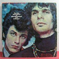 Discos de vinilo: THE LIVE ADVENTURES OF 'MIKE BLOOMFIELD AND AL KOOPER' ENGLAND-1968 LP33 DOBLE. Lote 17502012