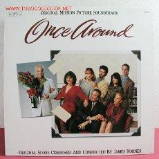 Discos de vinilo: ' ONCE AROUND ' 1991 LP33. Lote 3157906