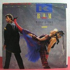 Discos de vinilo: K - RAM '' MÉNAGE A TROIS 3 VERSIONES '' 1984 MAXISINGLE 45RPM. Lote 2963651