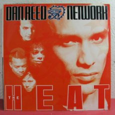 Discos de vinilo: DAN REED NETWORK '' THE HEAT '' 1991 LP33. Lote 2963933
