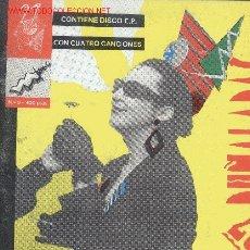 Discos de vinilo: 27 PUÑALADAS - VARIOS ARTISTAS EP RARO EX -EX + LIBRO EDITADO EN 1986. Lote 2972163