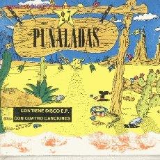 Discos de vinilo: 27 PUÑALASDAS-VARIOS ARTISTAS EP EX-EX + LIBRO EDITADO EN 1987 . Lote 2972176