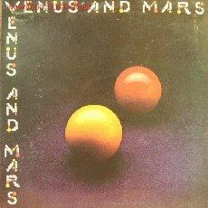 Discos de vinilo: WINGS-VENUS AND MARS LP VINILO CON PORTADA DOBLE EDITADO POR CAPITOL EN 1975 USA. Lote 2974665