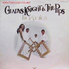 Discos de vinilo: GLADYS KNIGHT & THE PIPS-IMAGINATION LP VINILO EDITADO POR BUDDAH EN 1973. Lote 2974749