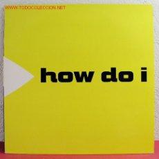 Discos de vinilo: SUBMARINE '' HOW DO I '' 1991 LP33. Lote 2981193
