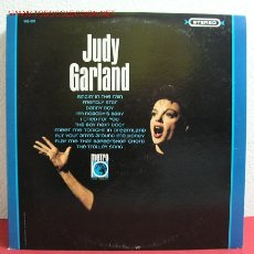 Discos de vinilo: JUDY GARLAND '' JUDY GARLAND '' USA LP33. Lote 2997185