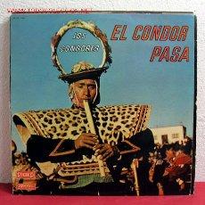 Discos de vinilo: LOS CONDORES ' EL CONDOR PASA ' FRANCE LP33. Lote 2997444