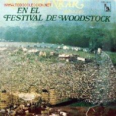 Discos de vinilo: RAVI SHANKAR - EN EL FESTIVAL DE WOODSTOCK LP EDITADO POR LIBERTY EN 1970. Lote 3009136