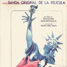 Discos de vinilo: SEX O´CLOCK USA DISCO LP PORTADA DOBLE BANDA SONORA ORIGINAL MUS MORT SHUMAN 1977 SPA EM10003. Lote 13519791