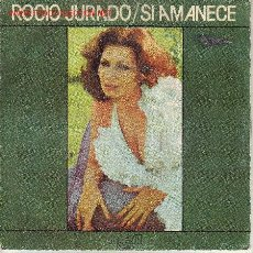 Discos de vinilo: ROCIO JURADO DISCO SINGLE RCA PB 7668 SPA 1978. Lote 26929696