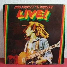 Discos de vinilo: BOB MARLEY AND THE WAILERS ( LIVE ! ) 1975 LP33. Lote 3032460