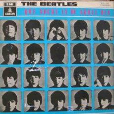 Discos de vinilo: THE BEATLES : QUE NOCHE LA DE AQUEL DÍA. 1964. ODEON J 060-04145. Lote 3033516