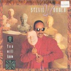 Discos de vinilo: STEVIE WONDER - YOU WILL KNOW / INSTRUMENTAL. Lote 3049351
