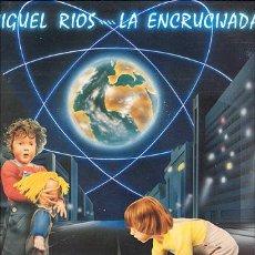 Discos de vinilo: LP 33 RPM / MIGUEL RIOS / LA ENCRUCIJADA /// EDITADO POR POLYDOR /// NUEVO . Lote 25527905