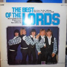 Discos de vinilo: THE LORDS ----- THE BEST OF. Lote 17355885