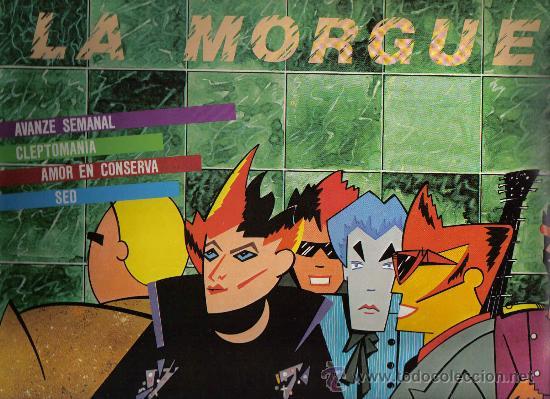 MAXI SINGLE DE 4 TEMAS: LA MORGUE - AVANZE SEMANAL (Música - Discos de Vinilo - Maxi Singles - Grupos Españoles de los 70 y 80)