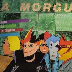 Discos de vinilo: MAXI SINGLE DE 4 TEMAS: LA MORGUE - AVANZE SEMANAL. Lote 31786840