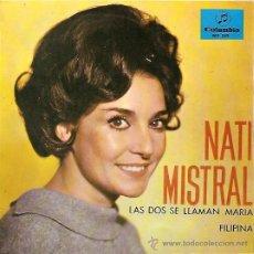 Discos de vinilo: NATI MISTRAL EP SELLO COLUMBIA AÑO 1965 PROMOCIONAL.. Lote 9769736