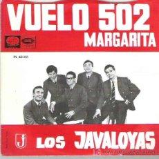Discos de vinilo: LOS JAVALOYAS - VUELO 502 *** EMI ODEON 1966. Lote 12553626