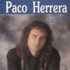 Discos de vinilo: PACO HERRERA / ESCORPIO (LP HORUS DE 1990). Lote 13706994