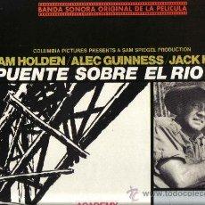 Discos de vinilo: LP BANDA SONORA: EL PUENTE SOBRE EL RIO KWAI - MUSICA DE MALCOLM ARNOLD . Lote 22618174