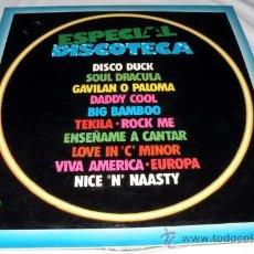Discos de vinilo: ANTIGUO DISCO DE VINILO LP ESPECIAL DISCOTECA - DISCO EN - . Lote 14236765