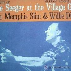 Discos de vinilo: PETE SEEGER AT THE VILLAGE GATE,EDICION ESPAÑOLA DEL 72. Lote 222876243