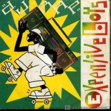Discos de vinilo: EXPENSIVE BOYS - D.J. RAP / D.J. RAP (INSTUMENTAL REMIX) - 1987 - PROMOCIONAL. Lote 26967861