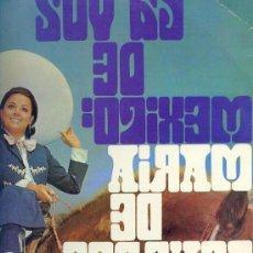 Discos de vinilo: MARIA DE LOURDES LP LA VOZ DE MEXICO PHILIPS SPA 1969 VER FOTO ADICIONAL CANCIONES. Lote 9826998