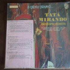 Discos de vinilo: TATA MIRANDO AND HIS GIPSY ORCHESTRA (RUSSIAN FOLK-SONGS - FRISS CSARDÁS - ARMENIAN FOLK-SONGS -...). Lote 9838799