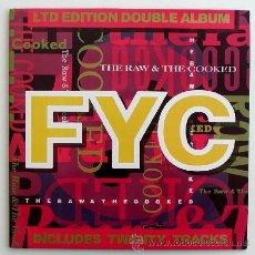 Discos de vinilo: FINE YOUNG CANNIBALS - THE RAW & THE COOKED (LP DOBLE) EDICION LIMITADA. Lote 26750354