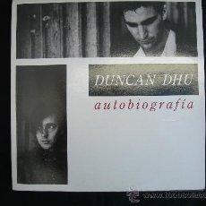 Discos de vinilo: DUNCAN DHU / AUTOBIOGRAFIA / DOBLE LP. Lote 26732004