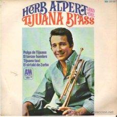 Discos de vinilo: HERB ALPERT Y SUS TIJUANAS BRASS - PULGA TIJUANA *** EP HISPAVOX 1966. Lote 12497580