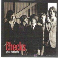 Discos de vinilo: THE CHECKS - WHAT YOU HEARD *** FULL TIME HOBBY . Lote 11306096
