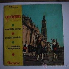 Discos de vinilo: ARAGON Y SU FOLKLORE. . Lote 9883343