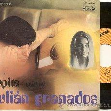 Discos de vinilo: SINGLE 45 RPM / JULIAN GRANADOS ( LOS BUENOS ) DONKEY // EDITADO POR GUITARRA . Lote 16011121